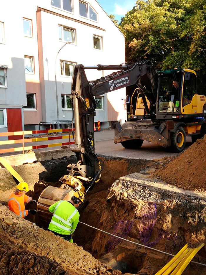 Lendahlsgatan,-installation-av-servis-till-nybyggnation