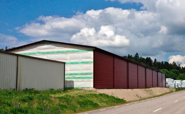 Markarbete-för-lagerhall