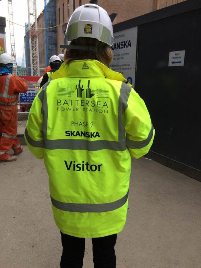 2. Studiebesök Battersea power station, London okt 2016