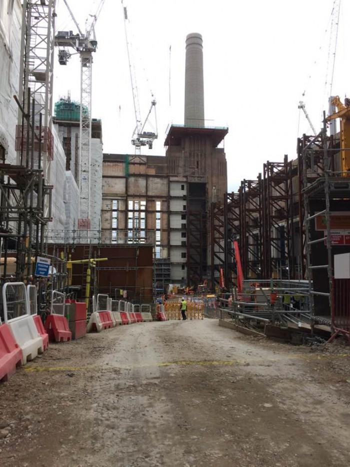 3. Studiebesök Battersea power station, London okt 2016