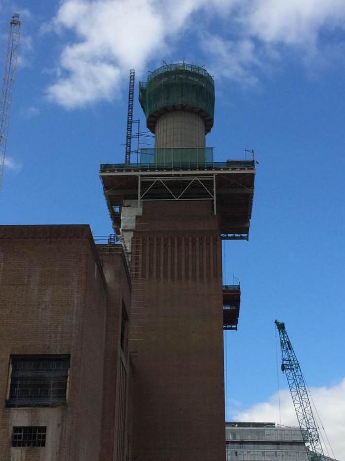 4. Studiebesök Battersea power station, London okt 2016