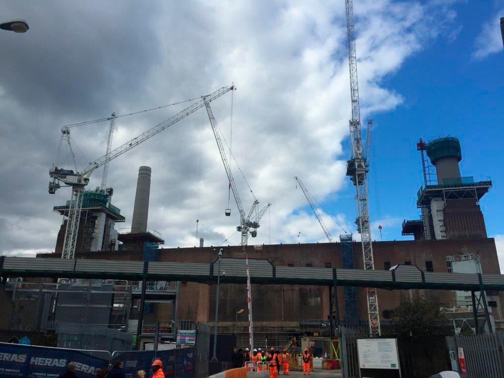 5. Studiebesök Battersea power station, London okt 2016